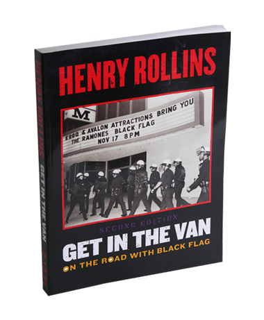 Henry Rollins - SIGNED Get in the Van Book