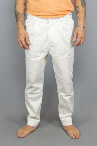 BAKERY BAKERY SIKE DENIM WHITE Way Side Shop PANTS MAN
