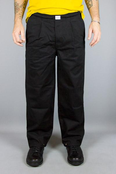 BAKERY, BAKERY WITCHA GABARDINE BLACK, PANTS MAN, Way Side Shop