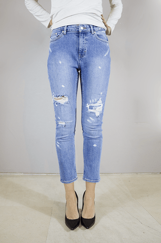 CHEAP MONDAY COMMON JEANS EDITOR Way Side Shop PANTS WOMAN