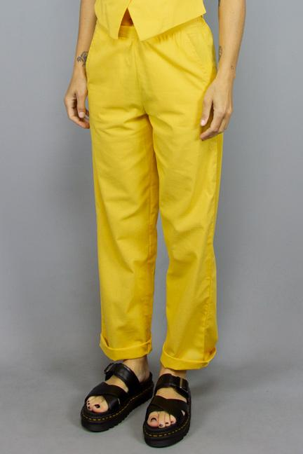 COMPANIA FANTASTICA, COMPANIA FANTASTICA NOELIA YELLOW, PANTS WOMAN, Way Side Shop