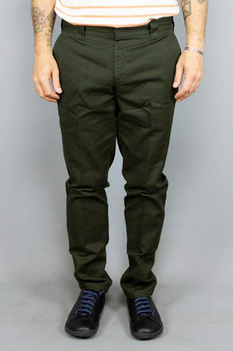 DICKIES Dickies Slim Fit Work Pant Olive Way Side Shop PANTS & JEANS MAN