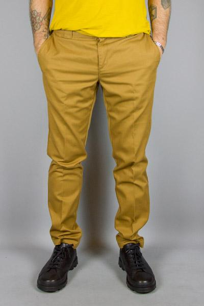 DICKIES, DICKIES SLIM FIT WORK PANT BROWN, PANTS & JEANS MAN, Way Side Shop