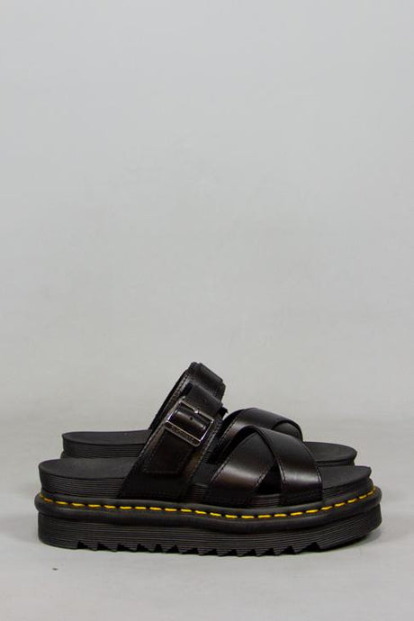 DR MARTENS, DR MARTENS RYKER BRANDO BLACK, SHOES WOMAN, Way Side Shop