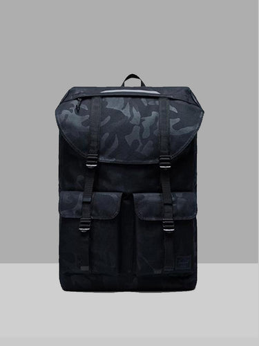 HERSCHEL HERSCHEL BUCKINGHAM BLACK TONAL Way Side Shop BACKPACK