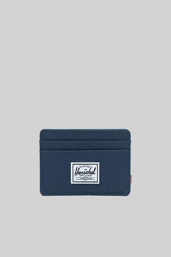 HERSCHEL CHARLIE RFID NAVY Way Side Shop WALLET