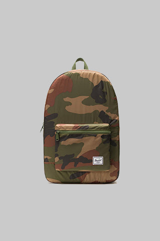 HERSCHEL HERSCHEL PACKABLE DAYPACK WOODLAND CAMO Way Side Shop BACKPACK
