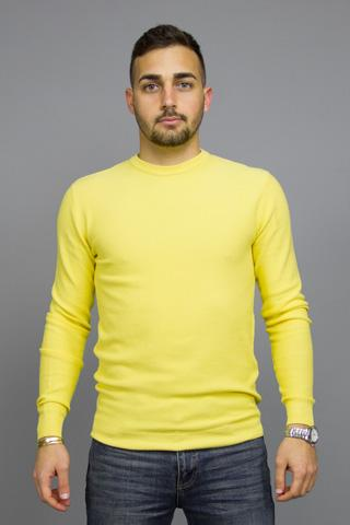 MINIMUM CURTH JUMPER LEMON DROP Way Side Shop KNIT MAN