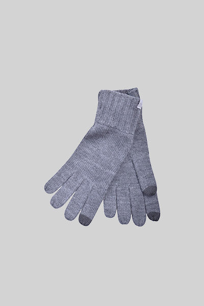 MINIMUM, TOFA GREY MELANGE, GLOVES, Way Side Shop
