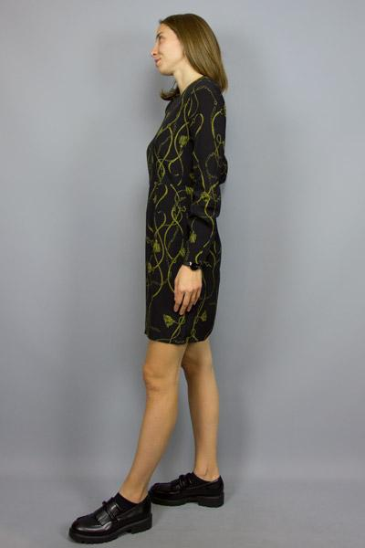 MINIMUM, MINIMUM VERSELA DRESS BLACK, DRESS WOMAN, Way Side Shop