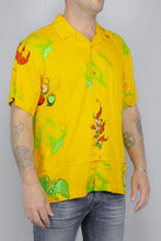 Load image into Gallery viewer, OBEY, OBEY DEVILS WOVEN MELLOW YELLOW, SHIRT MAN, Way Side Shop