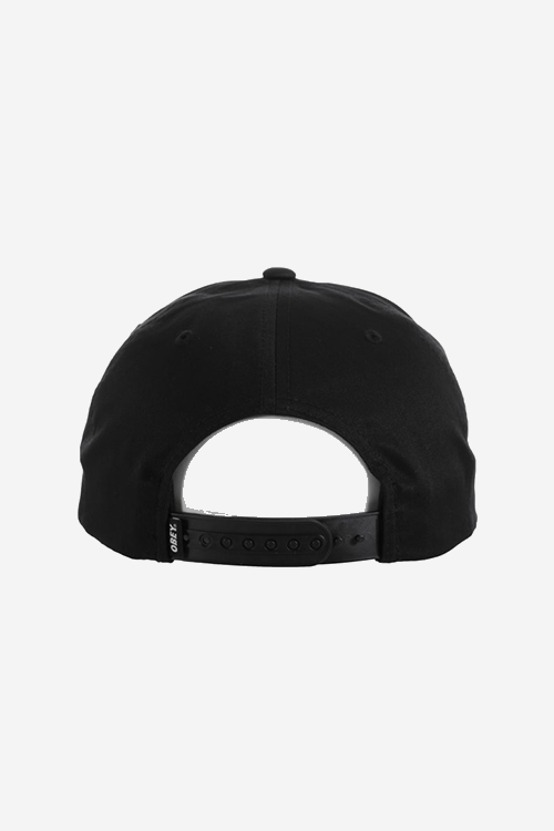 OBEY, CONTORTED SNAPBACK BLACK, CAP, Way Side Shop