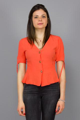 PEPALOVES, SOPHIA SHIRT CORAL, TOP WOMAN, Way Side Shop