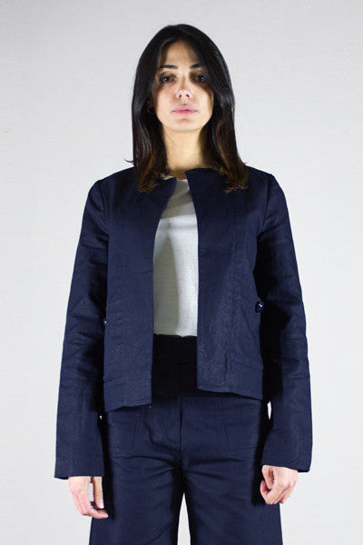 SESSUN, DOVAR INDIGO BLUE, JACKET WOMAN, Way Side Shop