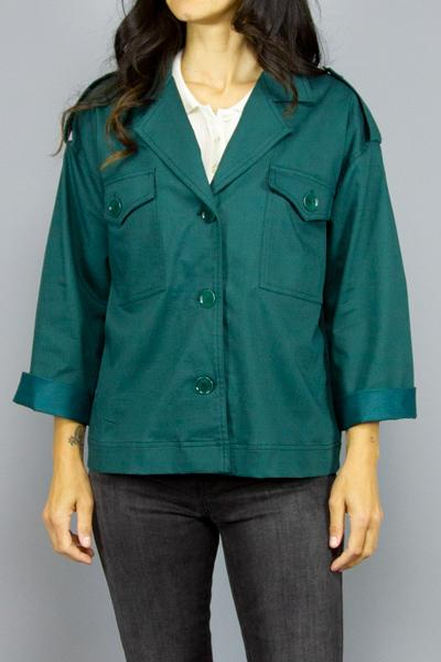 SESSUN SESSÚN FIRE GIRL JUNE GREEN Way Side Shop JACKET WOMAN