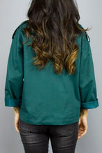 Load image into Gallery viewer, SESSUN SESSÚN FIRE GIRL JUNE GREEN Way Side Shop JACKET WOMAN