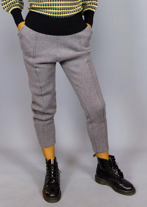 COMPANIA FANTASTICA, Compania Fantastica Mora Pant Grey, PANTS WOMAN, Way Side Shop
