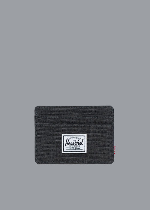 HERSCHEL, Herschel Charlie RFID Black Crosshatch, WALLET, Way Side Shop