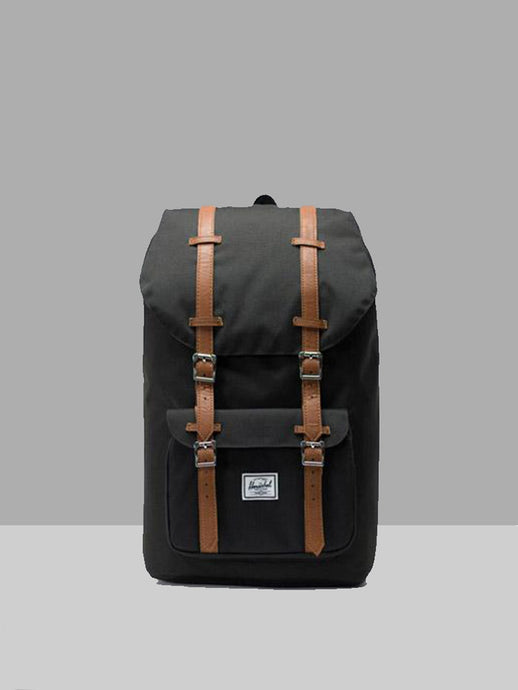 HERSCHEL, Herschel Little America Classic Black Tan, BACKPACK, Way Side Shop