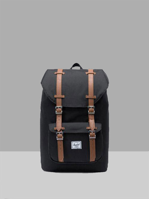 HERSCHEL, Herschel Little America Mid Black Tan, BACKPACK, Way Side Shop
