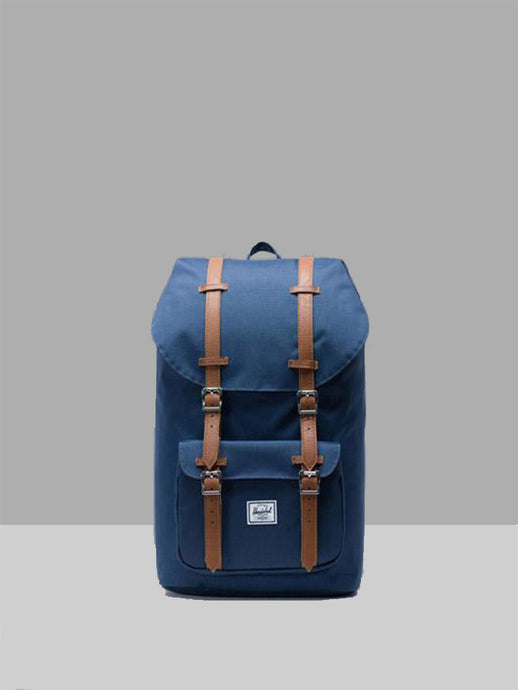 HERSCHEL, Herschel Little America Mid Navy Tan, BACKPACK, Way Side Shop