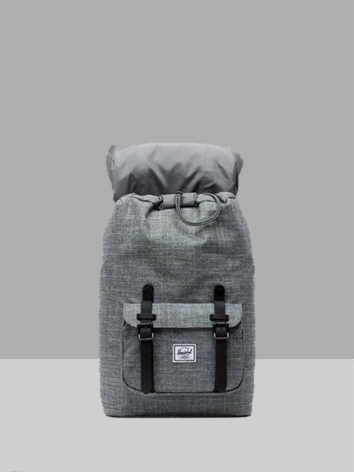 Herschel Little America Mid Backpack Raven Crosshatch