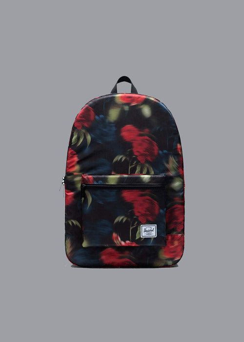 HERSCHEL, Herschel Packable Daypack Blurry Roses, BACKPACK, Way Side Shop