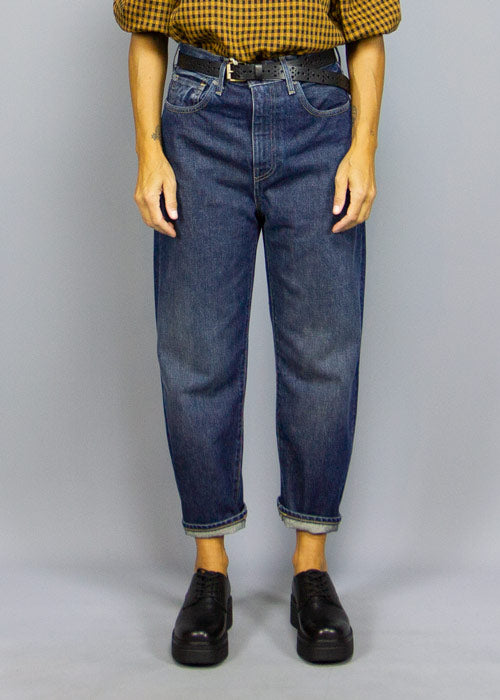 Levi's Made & Crafted Barrel Crop Dark