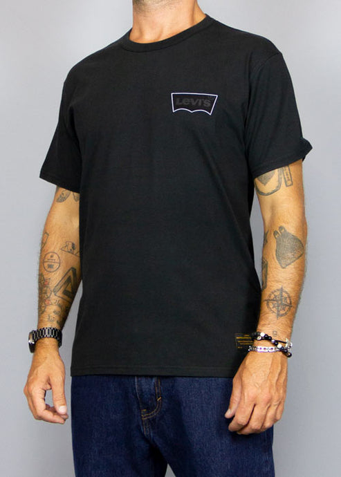 LEVI'S SKATEBOARDING, Levi's Skate T-Shirt Logo Black, T-SHIRT MAN, Way Side Shop
