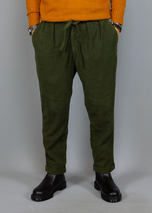 BOTTEGA CHILOMETRI ZERO, Madson Belt Pant Castle Army, PANTS MAN, Way Side Shop