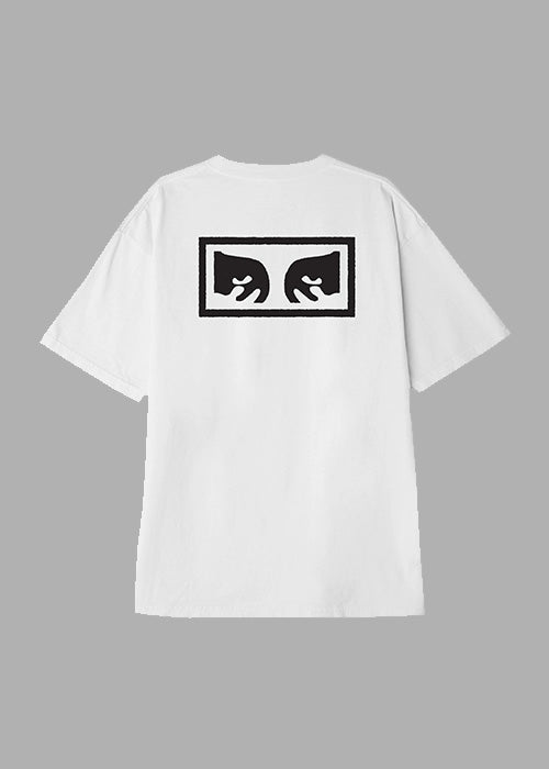 Obey Eyes 3 Heavyweight Tee White