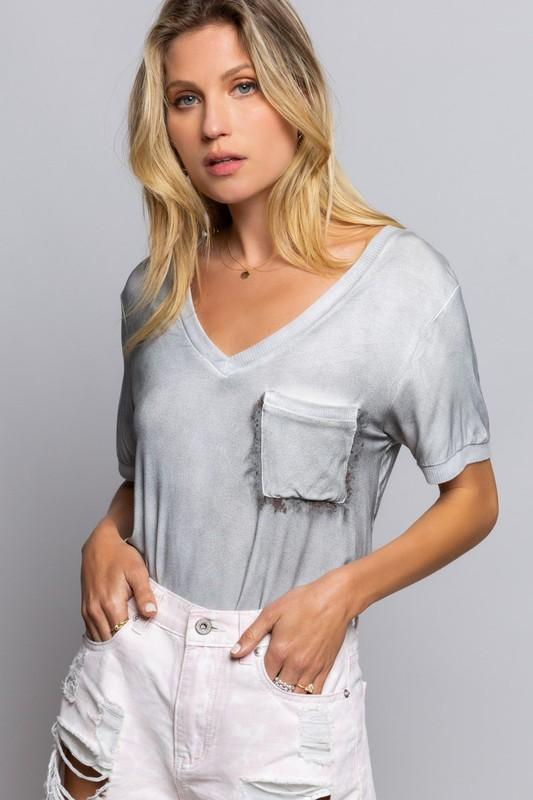 Specialty Washed Soft Tee
