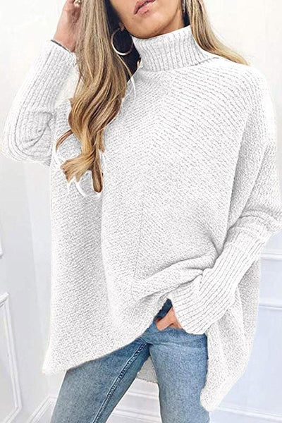 Soft as a Cloud Cowl Neck Sweater