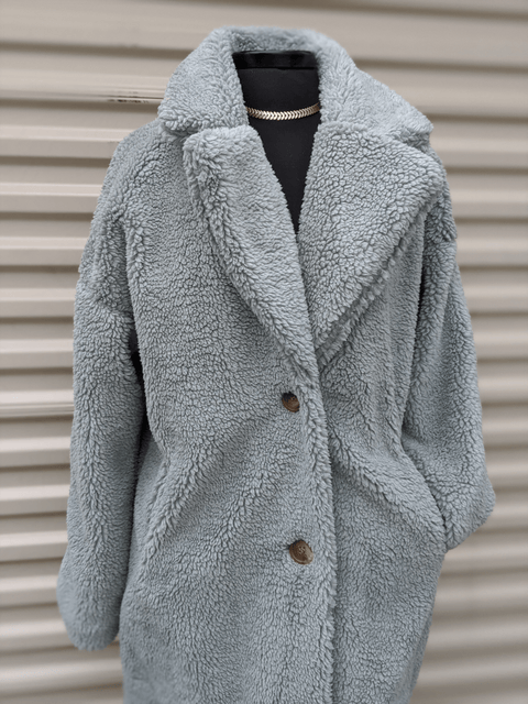 Spring Sage Teddy Jacket