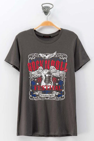 Festival Rock N Roll Graphic Tee