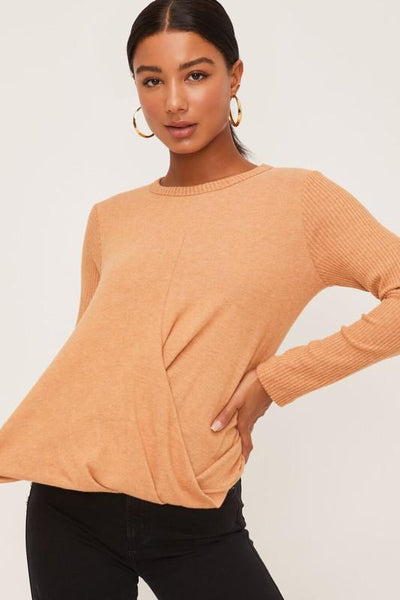 Honey Knit Pullover Knit Top