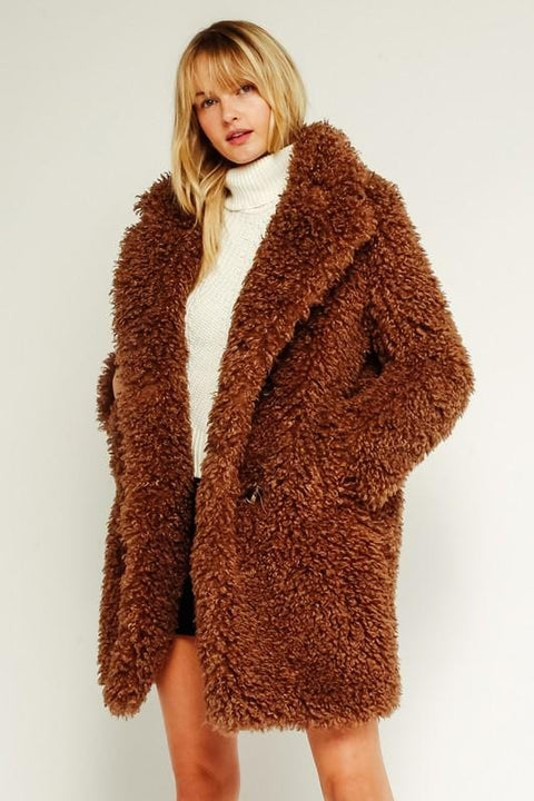 Emma Brown Shearling Jacket