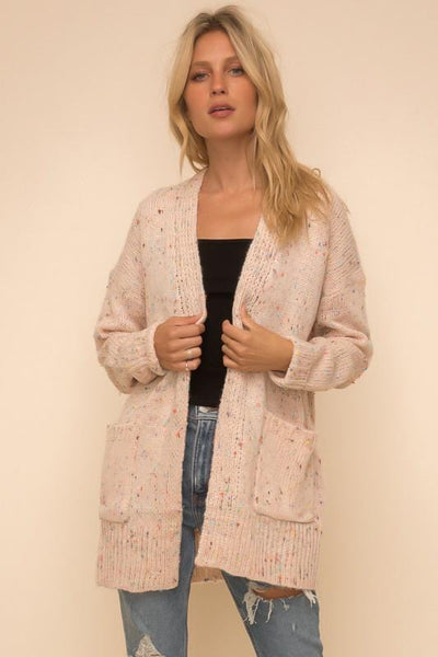 Soft Blush Cardigan