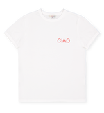Load image into Gallery viewer, Livanna Embroidery T-shirt Ciao