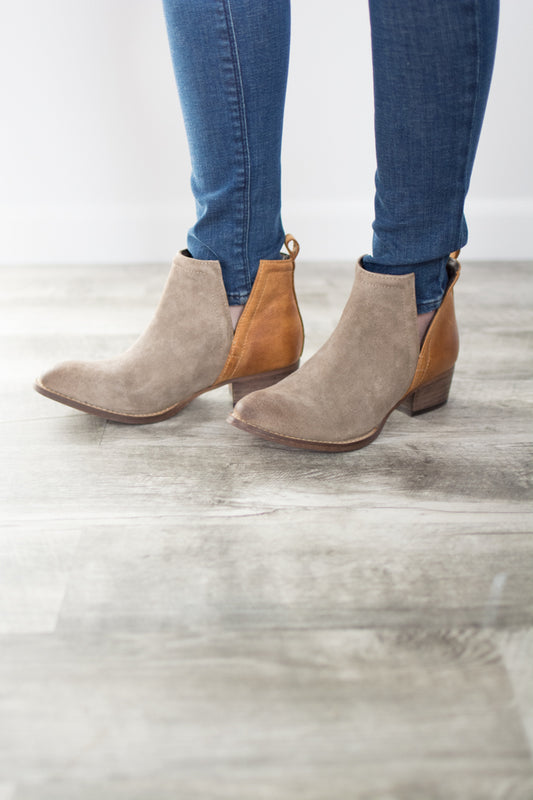 Double Trouble Ankle Bootie