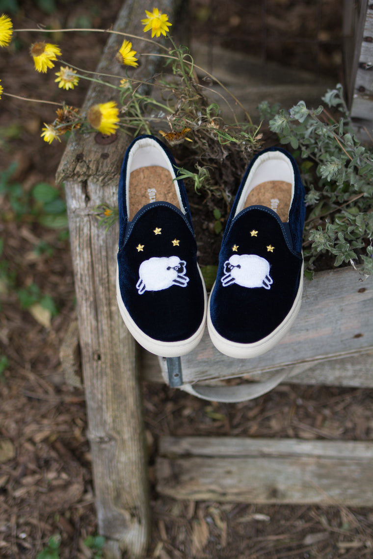 Ba Ba Blue Sheep Sneaker