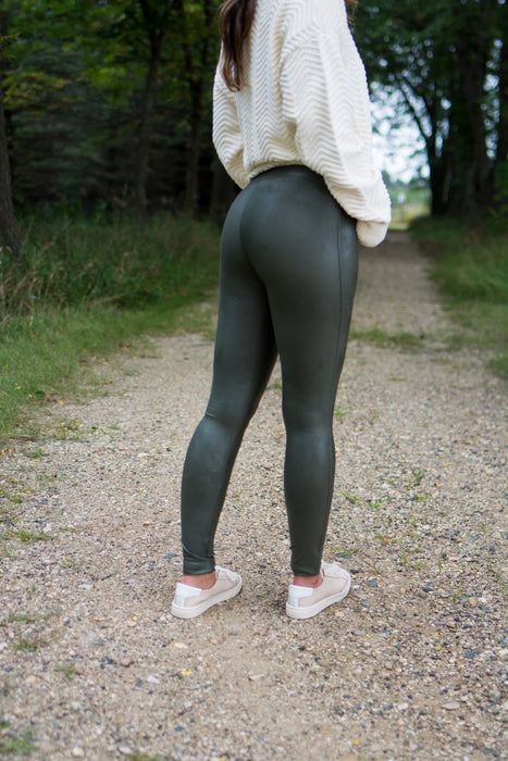 Ready To Wow Legging (Olive)