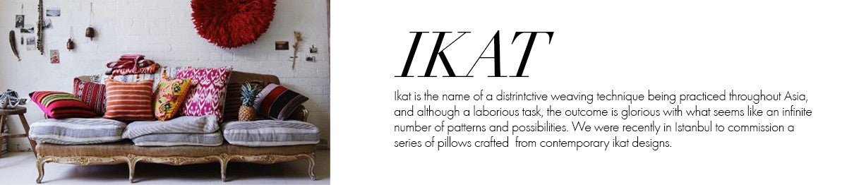Global Glossary - Ikat