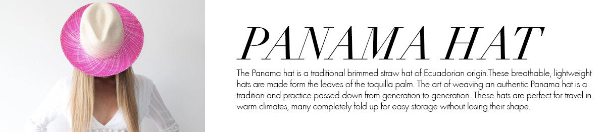 Global Glossary - Panama Hats