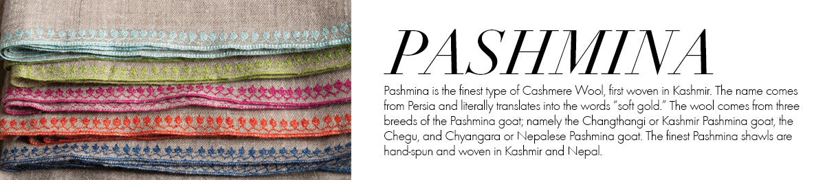 Global Glossary - Pashmina