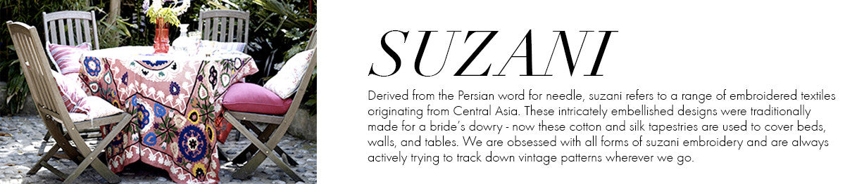 Global Glossary - Suzani