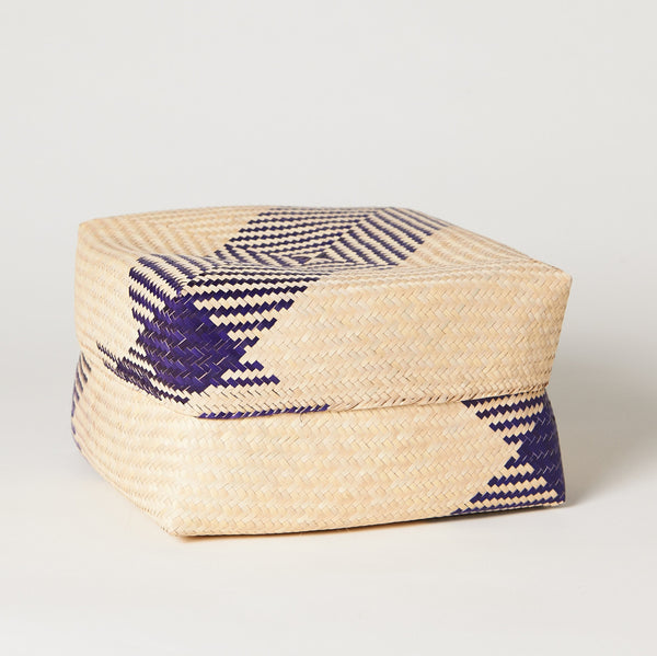 TETERETE, Purple Tortilla Basket
