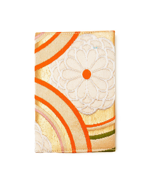 Multi Silk Circles Passport Holder