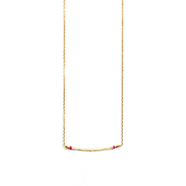 Rose Gold Julie Necklace