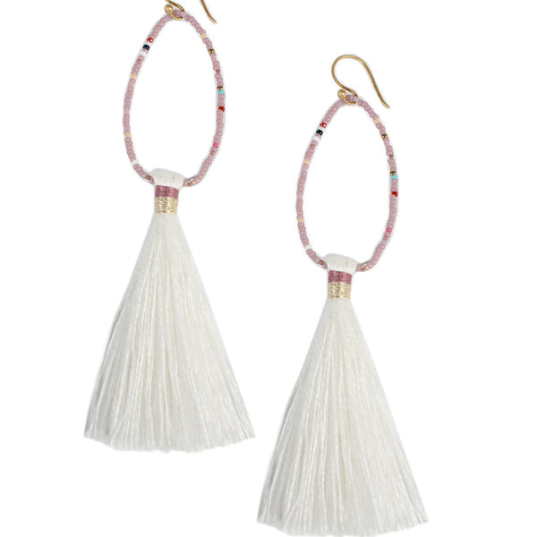 Lilac Lupe Earrings